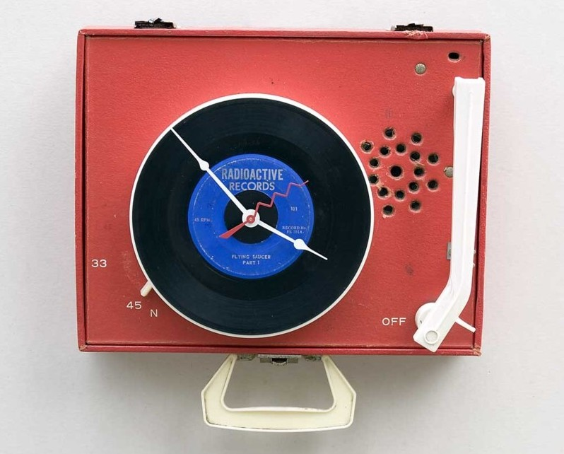 Emerson Record Player Clock