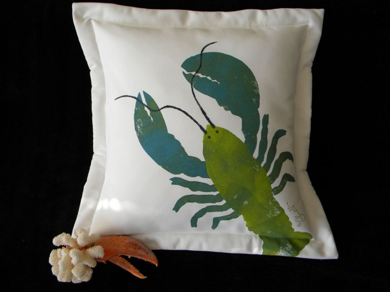 Crabbychris Lobster Pillow